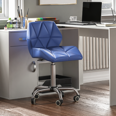 Geo Office Chair, Blue