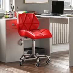 Geo Office Chair, Red