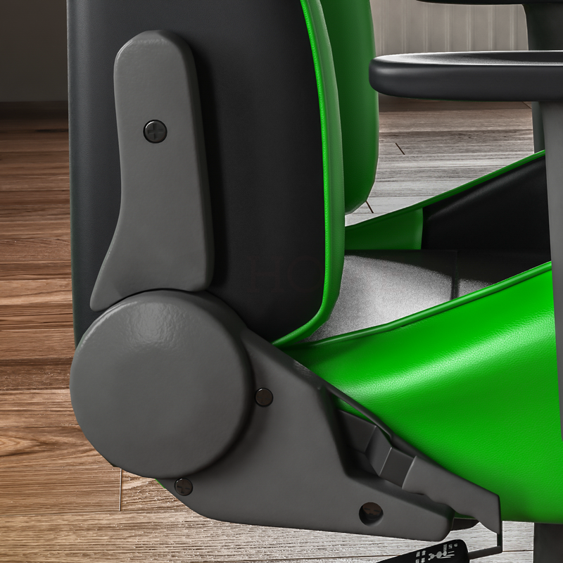 Nitro Racing Gaming Chair, Green & Black