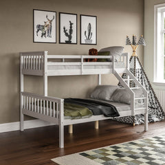 Milan Triple Sleeper Bunk Bed, White