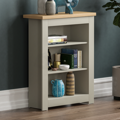 Arlington 3 Tier Bookcase, Grey