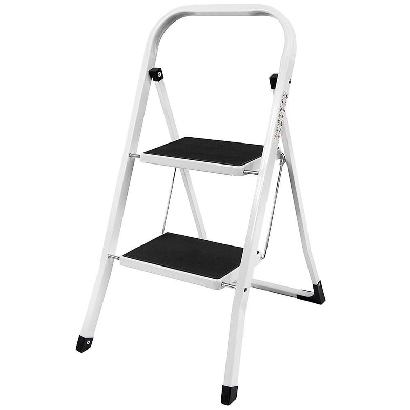 2 Step Ladder With Anti-Slip Mat