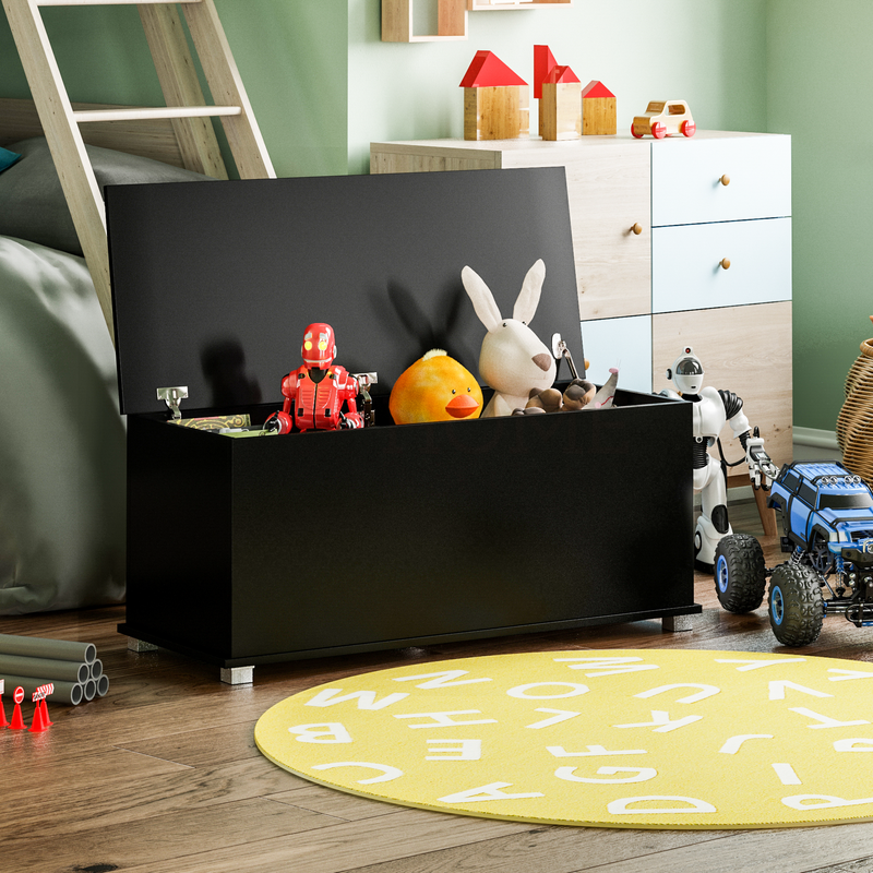 Leon Toy Box, Black
