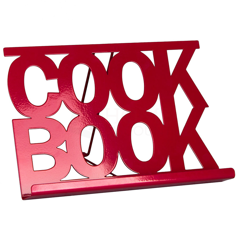 Cook Book Stand, Red