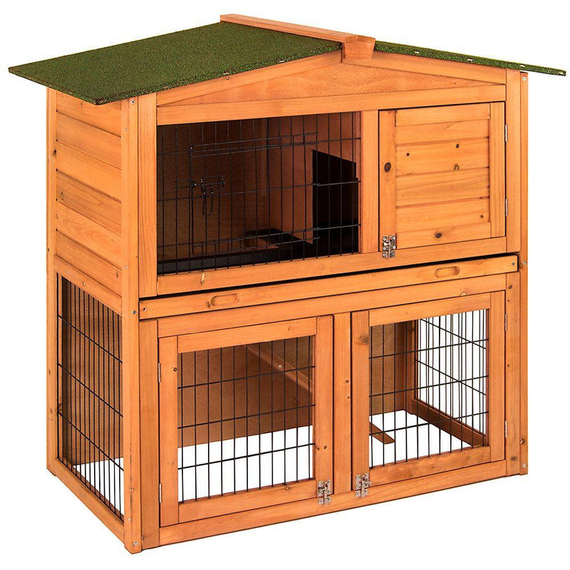 2 Tier Wooden Pet Hutch