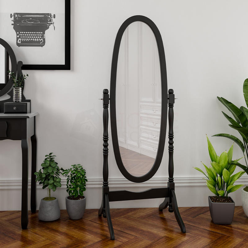 Nishano Cheval Mirror, Black