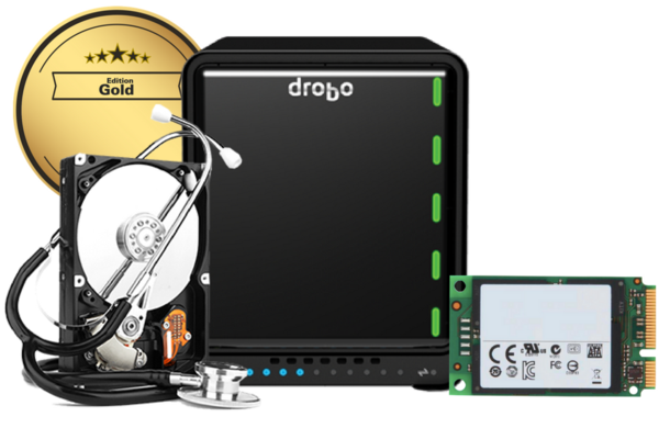 Drobo 5D3 Gold Edition - NEW (inc. VAT)