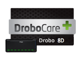 1 & 3 Year DroboCare for Drobo 8D (inc. VAT)