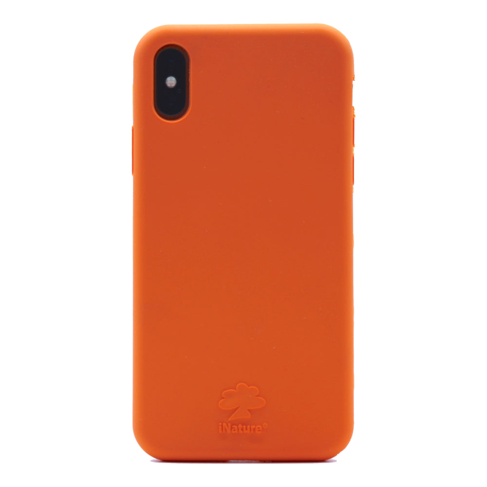 Custodia iNature iPhone XS Max - Arancio