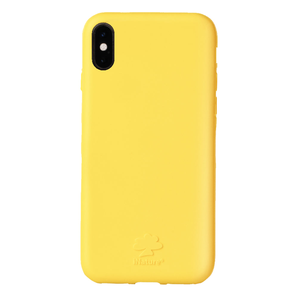 Custodia iNature iPhone XS Max - Giallo