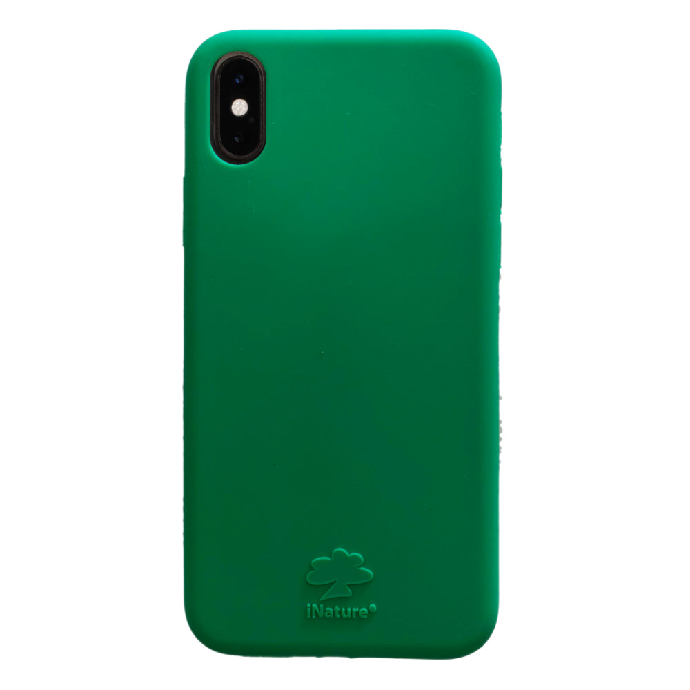 Custodia iNature iPhone XS Max - Verde Foresta