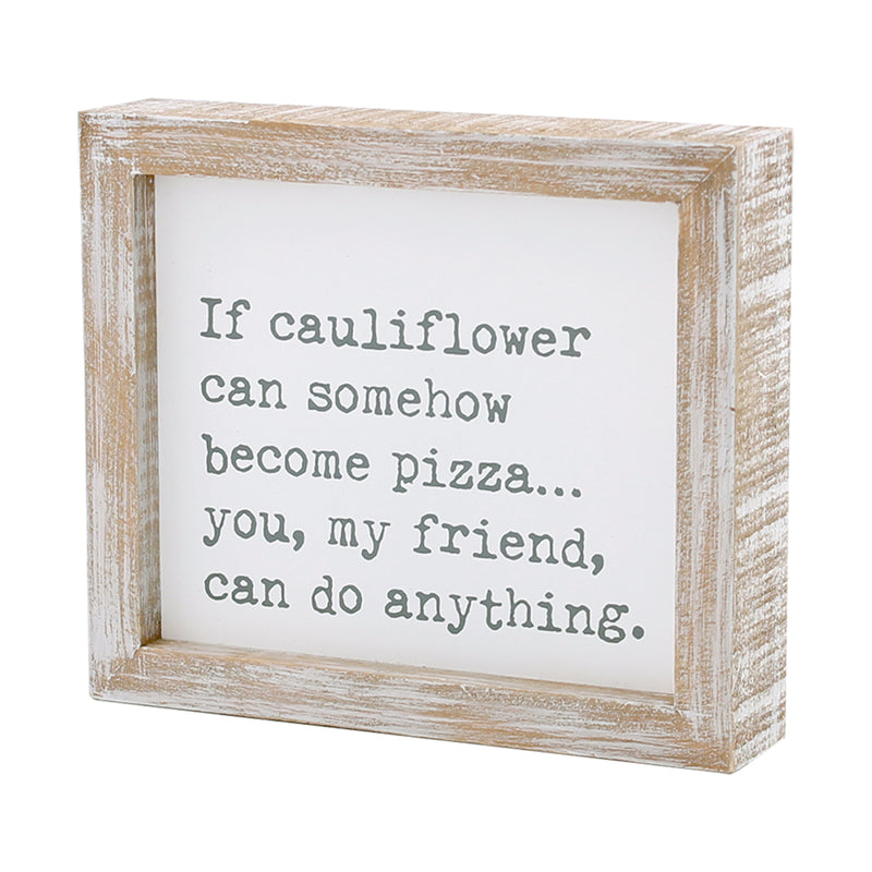 CA-3678 - Cauliflower Framed Sign