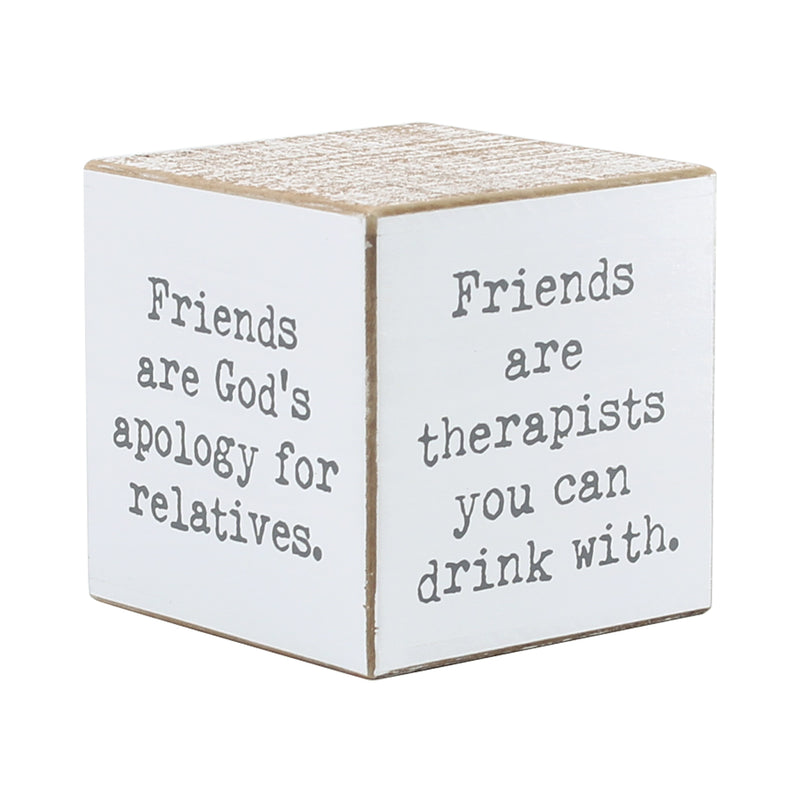CA-3680 - Friend Sayings Cube (4-sided)