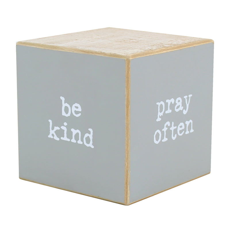 CA-3711 - Uplifting Sayings Cube (4-sided)