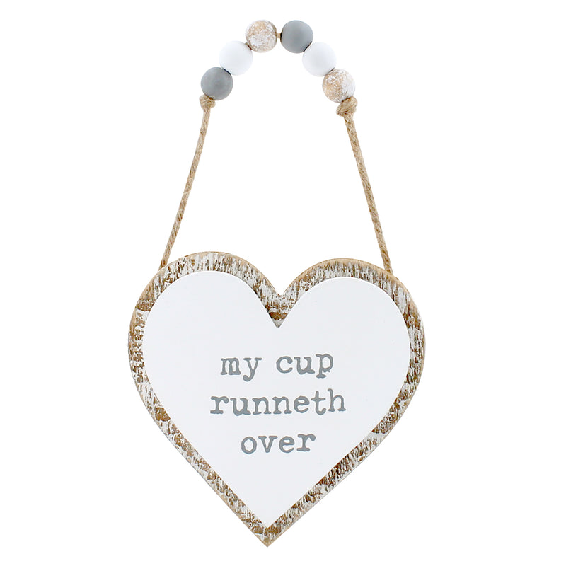 CA-3726 - My Cup 3D Heart w/ Beads