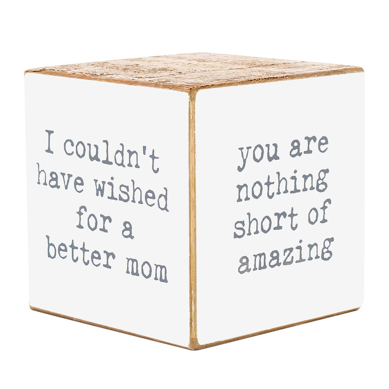 CA-3741 - Mom Sayings Cube (4-sided)