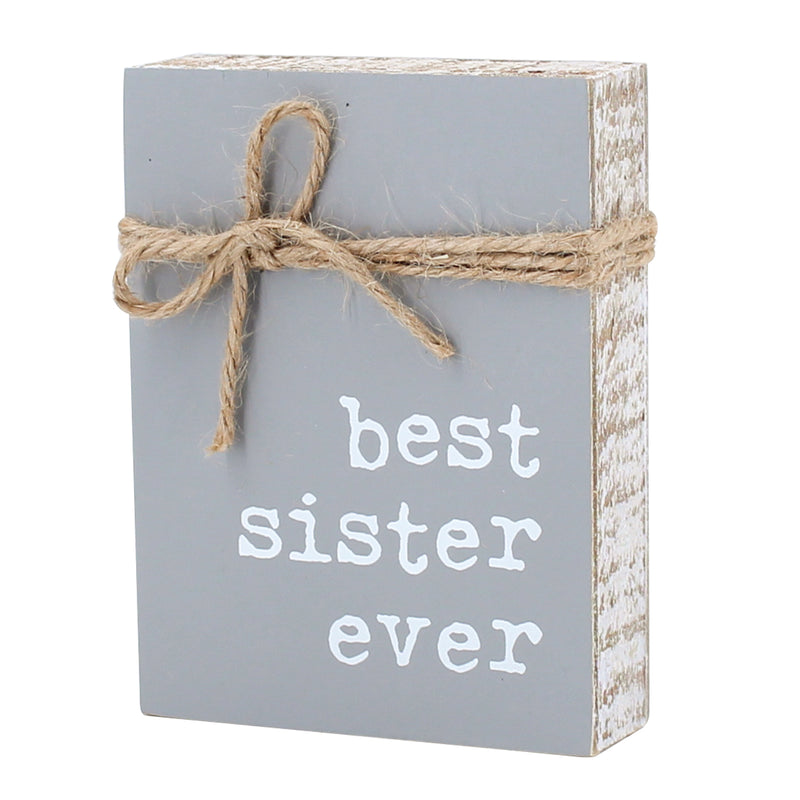 CA-3748 - Sister Jute Block Sign