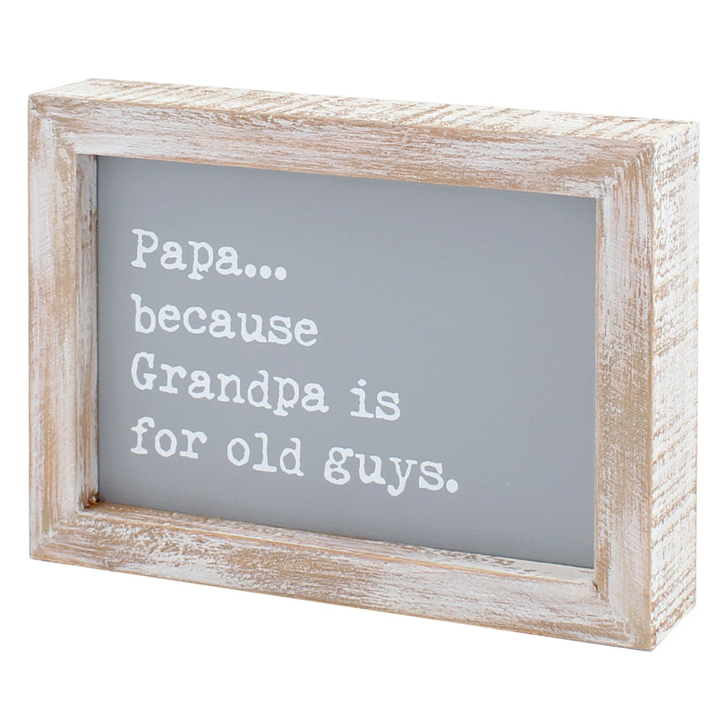 CA-3761 - Old Guys Framed Sign
