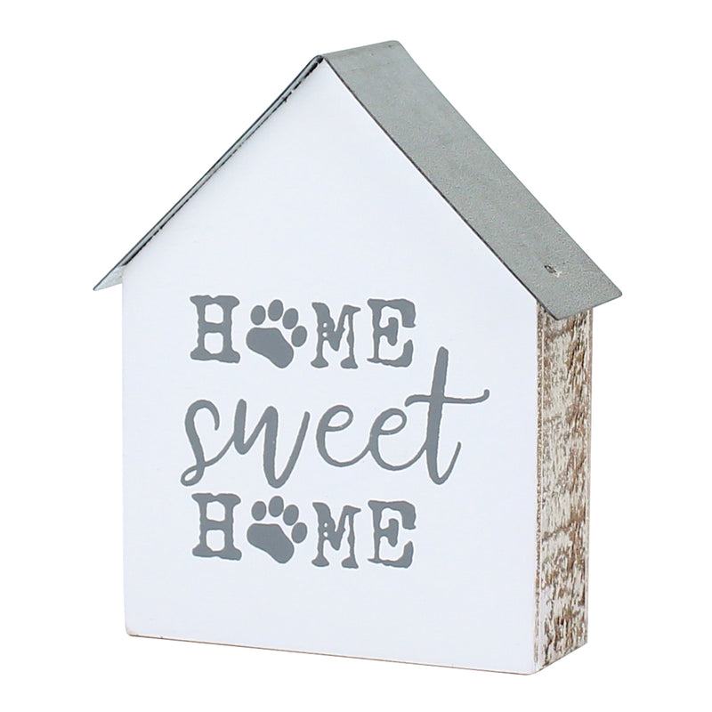 CA-3817 - Home Sweet Paw House Block