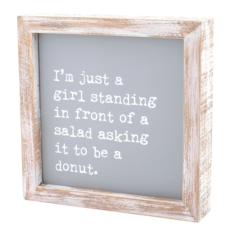 CA-3820 - Salad Donut Framed Sign