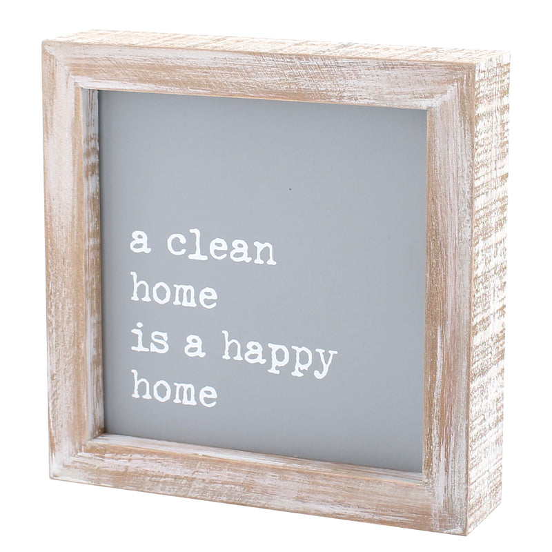 CA-3824 - Happy Home Framed Sign