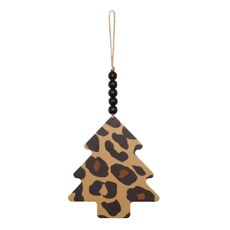 CA-4004 - Tree Cheetah Beaded Ornie