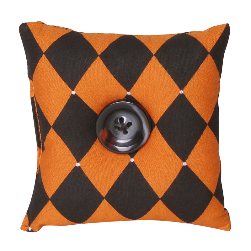 CF-2232 - Harlequin Fabric Mini Pillow