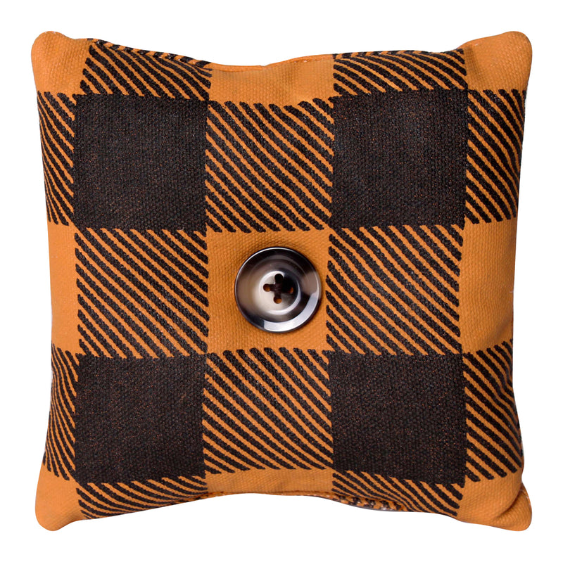 CF-2234 - OB Check Fabric Mini Pillow