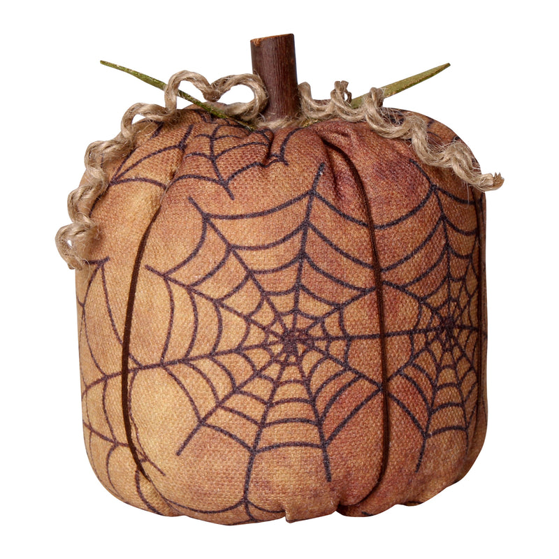 CF-2244 - Lrg. Black Web Fabric Pumpkin