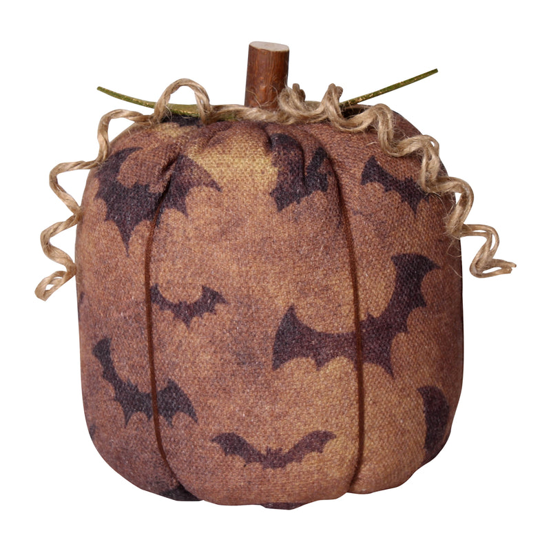 CF-2256 - Lrg. Bat Fabric Pumpkin