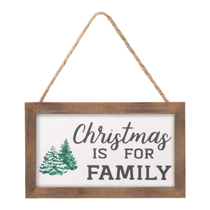 FR-9168 - Christmas Family Framed Ornie
