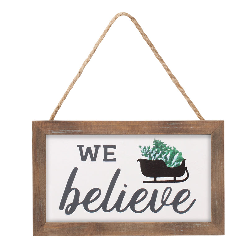 FR-9171 - We Believe Framed Ornie