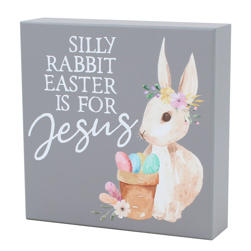 FR-9364 - Silly Rabbit Box Sign
