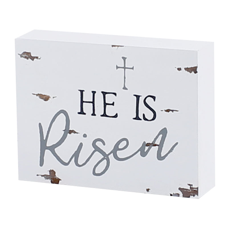 FR-9392 - Risen Chippy Block Sign