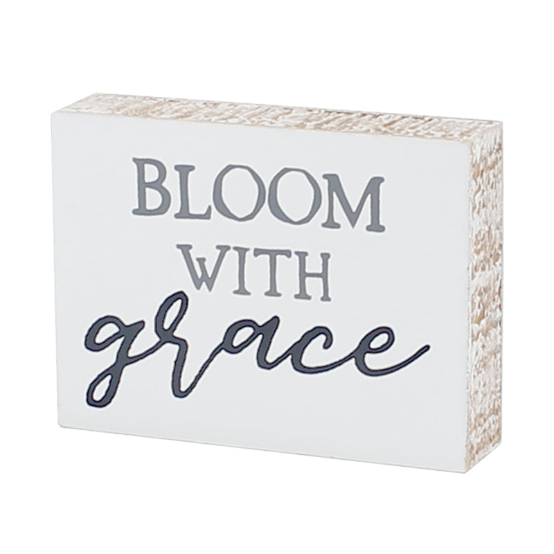 FR-9404 - Bloom Grace Block Sign