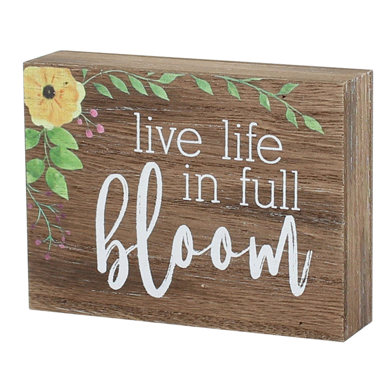 FR-9427 - Full Bloom Block Sign