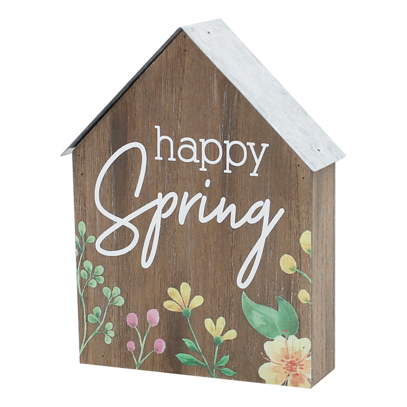 FR-9440 - Happy Spring Lrg. House Block