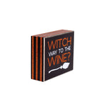FR-9476 - Witch Way Glitter Box Sign