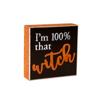 FR-9477 - That Witch Glitter Box Sign