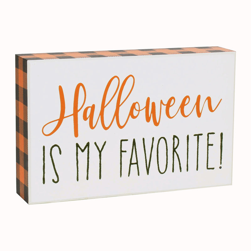 FR-9487 - Halloween Fav Glitter Box Sign