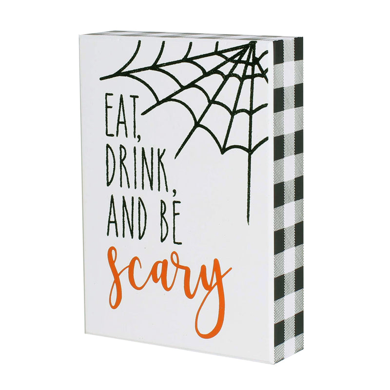 FR-9492 - Be Scary Box Sign