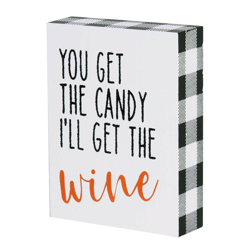 FR-9496 - Candy Wine Block Sign