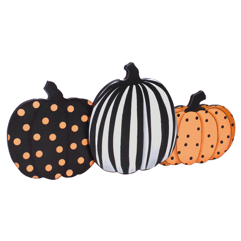 FR-9505 - Large Pumpkin Cutout Sitter