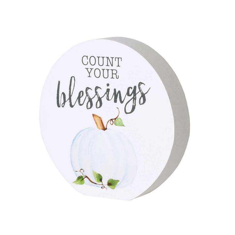 FR-9566 - Blessings Round Block Sign