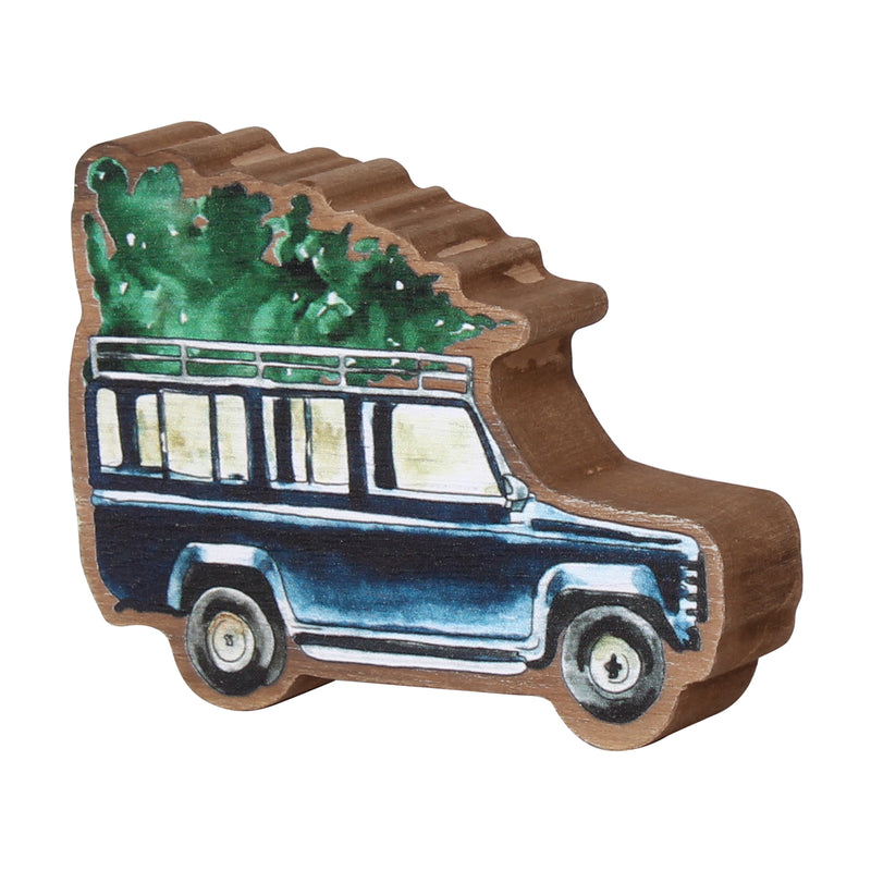 FR-9669 - Blue Jeep Tree Cutout