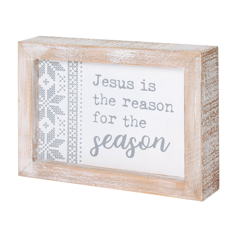 FR-9672 - Jesus Season Framed Sign