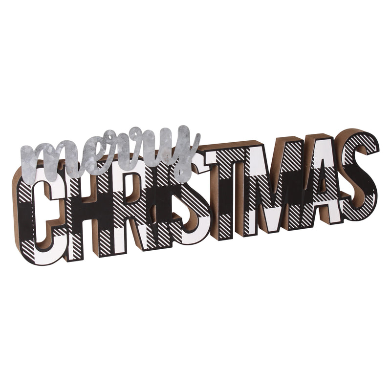 FR-9712 - Christmas BW Word Cutout