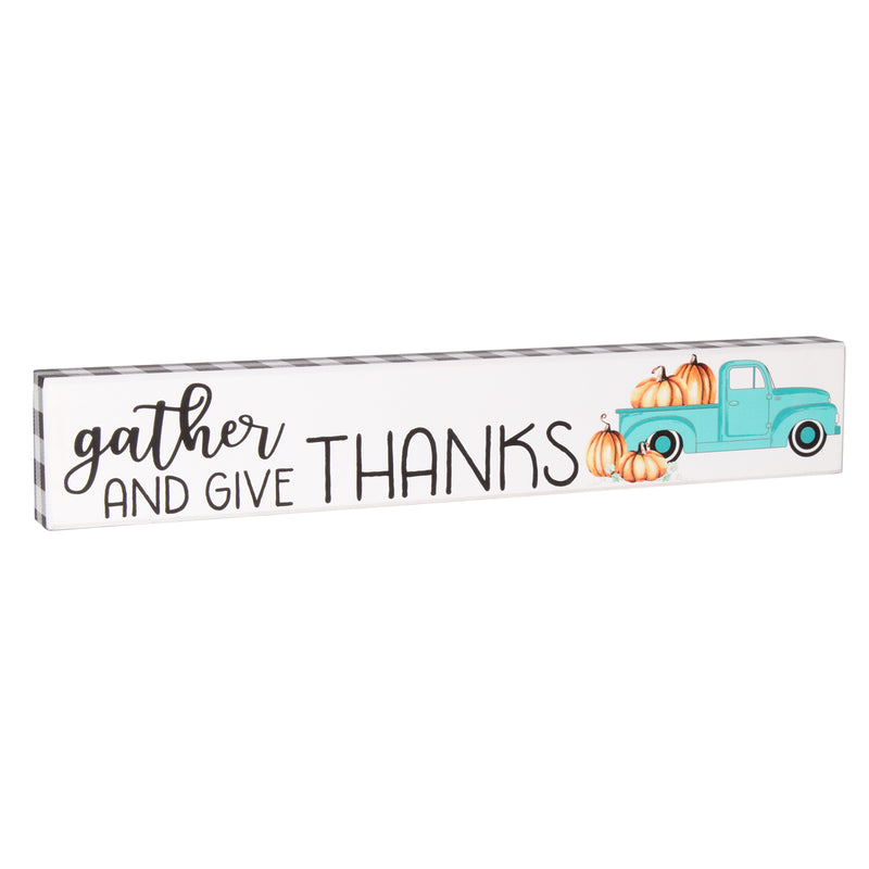 FR-9760 - Give Thanks Blue Truck Sitter