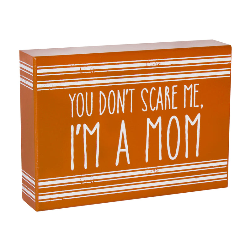 FR-9768 - Scare Me Striped Box Sign