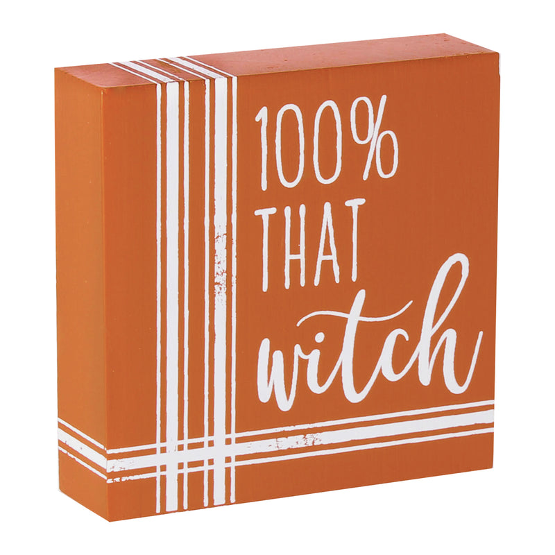 FR-9773 - Witch Striped Block Sign